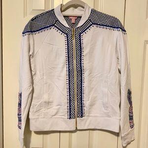 Lilly Pulitzer Zip-up Sweatshirt